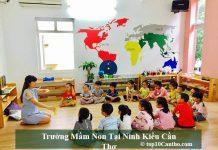 Trường mầm non tại Ninh Kiều Cần Thơ