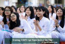 Trường THPT tại Ninh Kiều Cần Thơ